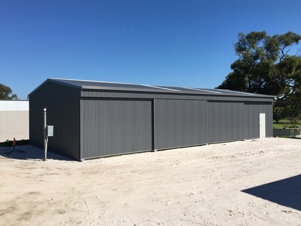 Large residential shed